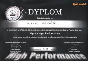 Opony HP